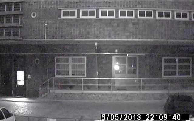 Infrarot Überwachungskamera bei Nacht