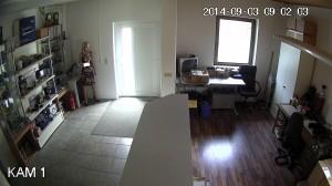 Test Bild HD Überwachungskamera