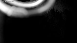 Testbild Infrarot Überwachungskamera mit Gegenstand vor dem Objektiv