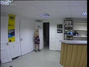 analoge Überwachungskamera mit PAL Auflösung