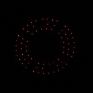 Infrarot LED bei Nacht